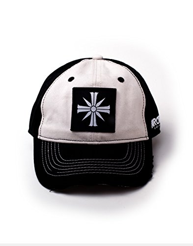 Bioworld Far Cry 5 Emblem Logo Patch Curved Bill Cap, Black/White (BA112505FAR) Casquette de Baseball, Noir (Noir Noir), Taille Unique Mixte
