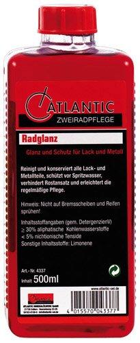 ATLANTIC Radglanz 500 ml Nachfüllflasche - Verwendet-chrom-felgen