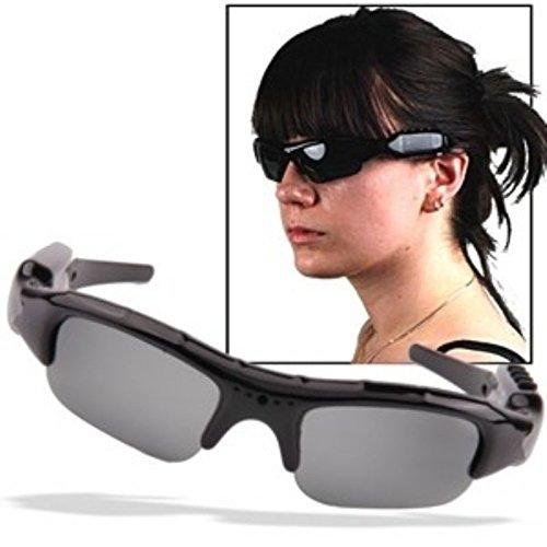 Sonnenbrille mit Kamera und Kamera Integrierte