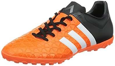 adidas Performance  ACE15.4 TF, Chaussures de Football homme - Orange - Orange (Solar Orange/Ftwr White/Core Black), 39 1/3