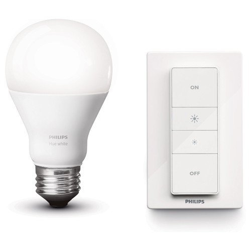 41KCaqIj3yL [Bon Plan Philips HUE Philips Hue Wireless Dimming Kit Ampoule LED avec télécommande Culot E27 (grosse vis)