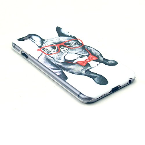 TIODIO® 4 en 1 Etuis Case Protecteur Hard Arrière Housse Coque Etui Case Cover pour Apple iphone 6S/iPhone 6 housse étui case cover, Stylus et Film protecteur inclus, B28 B19