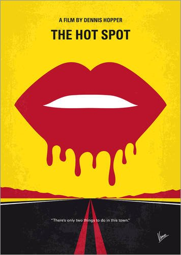 Forex-Platte 120 x 170 cm: No908 My The Hot Spot minimal Movie Poster von chungkong