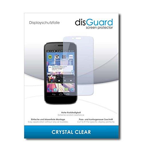 disGuard® Bildschirmschutzfolie [Crystal Clear] kompatibel mit Switel S4010D [2 Stück] Kristallklar, Transparent, Unsichtbar, Extrem Kratzfest, Anti-Fingerabdruck - Panzerglas Folie, Schutzfolie