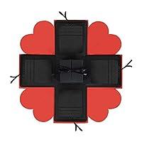 Informazioni sul prodotto:  Dimensioni: circa 16 * 16 * 16 cm / 6,3 * 6,3 * 6,3 pollici  Peso: circa 350 g  Materiale: carta  Punto di vendita: quadrilatero di ...