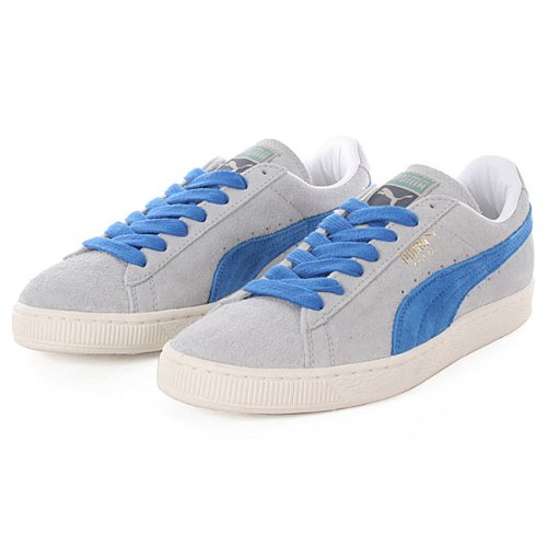 Puma Suede VNTG Leather Sneaker Men Trainers grey 353549 01 gray violet-puma royal