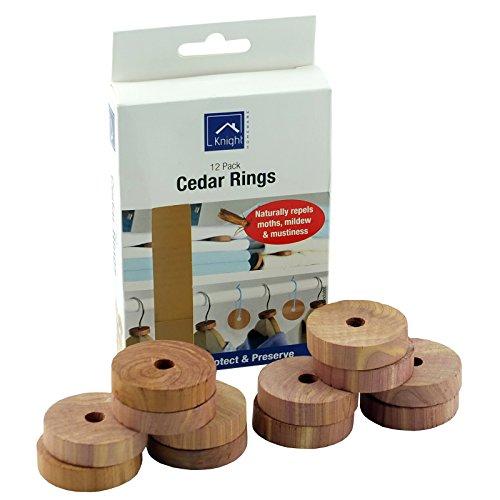 Lot de 12 anneaux de cèdres, Pack of 1