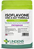 Lindens Isoflavone One A Day Formula (Soya+) Tablets | 30 Pack | UK Manufacturer | Suitable for vegans and vegetarians from Lindens