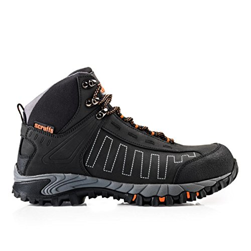Scruffs CHEVIOT Waterproof Safety Hiker Boots Black (Sizes 7-12) Mens Steel Toe...