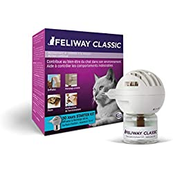 FELIWAY Classic - Anti-stress pour Chat - Diffuseur + Recharge 48 ml