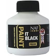 NAF - Paint it Black Horse Hoof Polish x 250 Ml by NAF