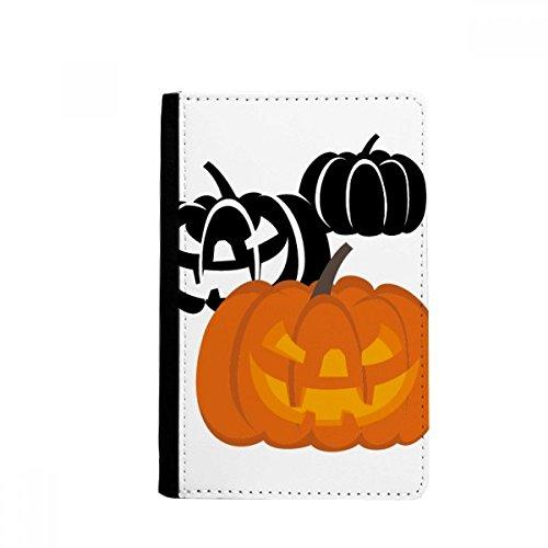 beatChong DREI Kürbisse Halloween Hallowmas Pass-Halter-Reise-Brieftasche Abdeckungs-Fall ()
