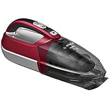 Bosch BHN12CAR - Aspirador de mano con kit de accesorios para el automóvil, 12 V, color rojo y gris oscuro