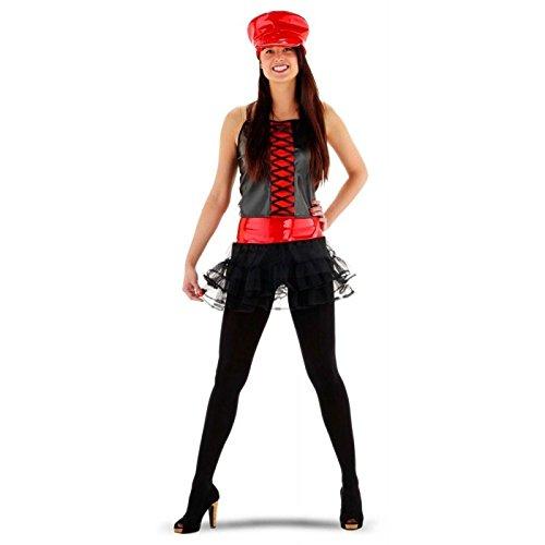 Folat 21998 -Sexy Biker Girl Kostüm, -