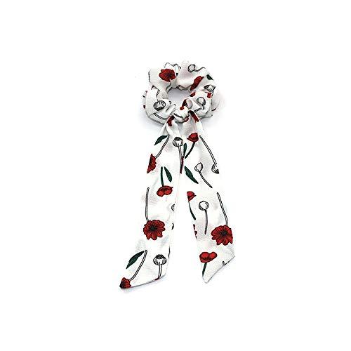 ya pu Bow Hair Hair Bundle Stretch Ponytail Hair Rope Headband (Bow Tie-bundle)