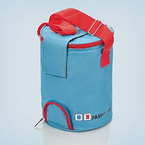 Brauen.de Kühltasche für 5 Liter Partyfass zum Zapfen auch über Zapfanlage - Partyfässer kühlen mit Isolierbox - Bierfasskühler Fass