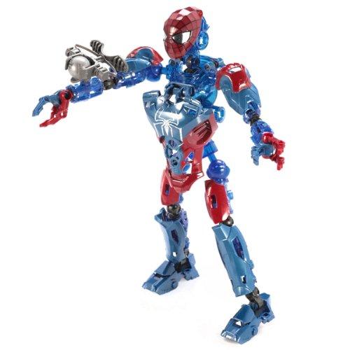 Mega Bloks 91296 - Spiderman 4 Sigilo Spider-Man Techbot