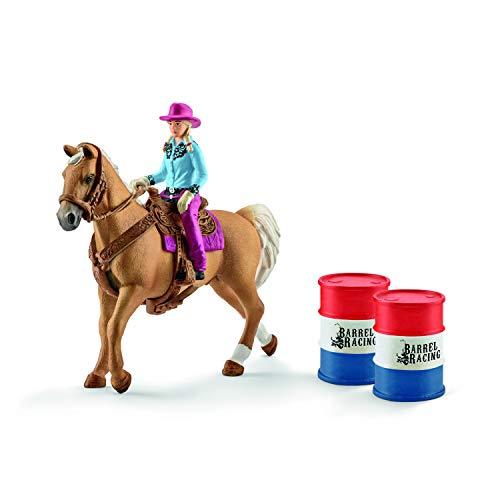 Schleich 41417 - Barrel racing mit Cowgirl