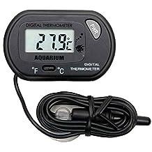 Providethebest 1PCS Mini Digital LCD del coche de refrigerador Incubadora Fish Tank termómetro del metro del calibrador
