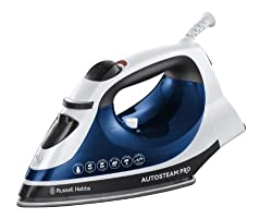 Russell Hobbs 20270 Auto Steam Pro Iron - 2400 Watt - Blue