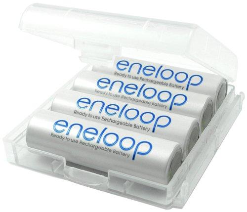Sanyo Eneloop HR - 3UTGB Paquet de 4 piles AA rechargeables 1800 Cycles 8
