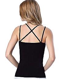 Shocknshop Women's Cotton Top (AMZN-016 _Black _Free Size)