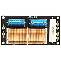 Nobsound - Divisor de frecuencia para Altavoz de Graves, pasivo, 300 W, 4-8Ω