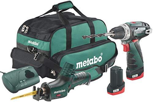 Metabo 6.85056.00 Akku-Combo Set 2.4 BS Basic + ASE -