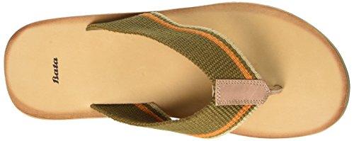 BATA 8697254, Flip-flop homme Vert (Verde)