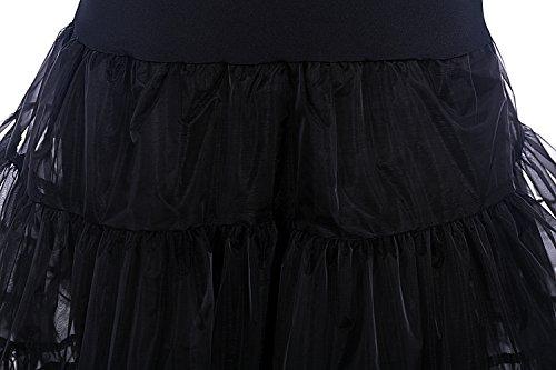 Dresstells 50er Petticoat Reifrock / Unterrock für Rockabilly Kleid - 4