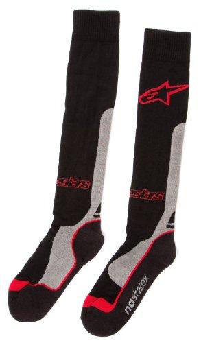 Alpinestars Socken Pro Coolmax Rot Gr. L/XL (Alpinestars Coolmax Socken)