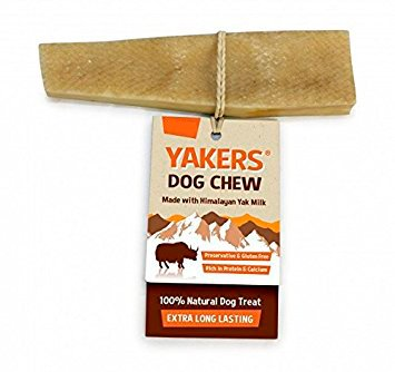 Yakers Dog Chew Small x 2 - Yak Milk Value Pack of 2 - Save! from Kennelpak