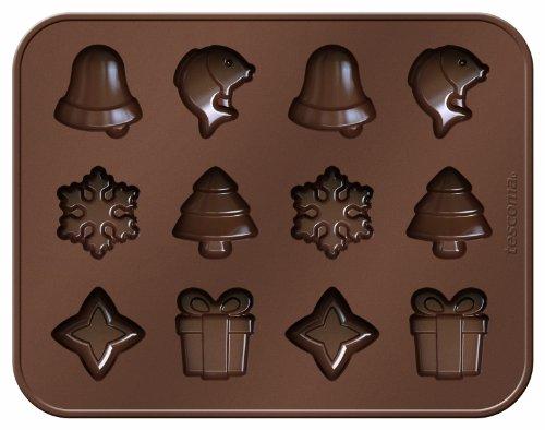 Tescoma 629372 Delicia Choco Stampo per Cioccolatini, Natale