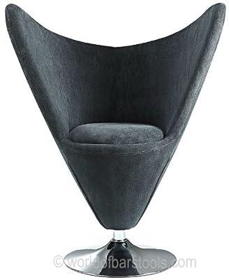 Lexus Funky Swivel Chair Black - cheap UK light store.
