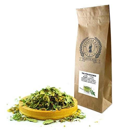 Kräuter Tee für Raucher 200g von KLOSTER KUR mit Lungenkraut Königskerze Blüten Huflattich -