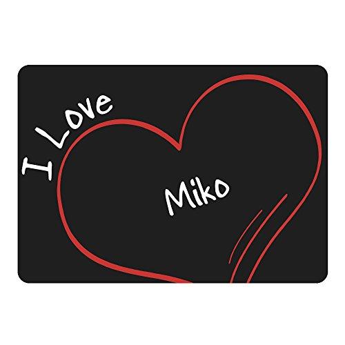 mouse-mat-modern-i-love-miko-black