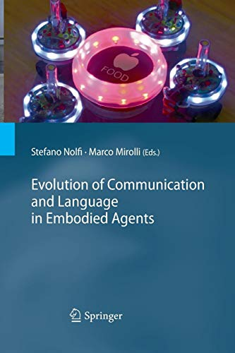 Evolution of Communication and Language in Embodied Agents -