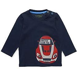 ESPRIT KIDS Baby-Jungen Langarmshirt Long Sleeve Tee-Shirt, Blau (Navy Blue 470), (Herstellergröße: 80)