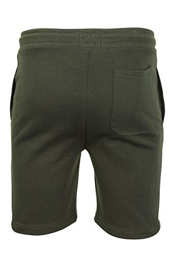 Brave Soul Tarley - pantaloncino sportivo uomo - cotone Verde militare scuro / Verde