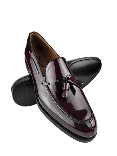 Zerimar Zapatos Castellanos Hombre | Mocasin Antifaz Hombre | Mocasin con Borlas para Hombre | Mocasin Piel Hombre
