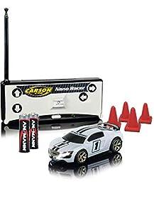 Carson 5004041111: 60Nano Racer Toxic White MHz 100% RTR