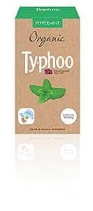 Typhoo Organic Peppermint - 25 Heat Sealed Envelopes