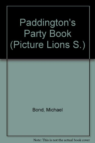 Paddington's party book