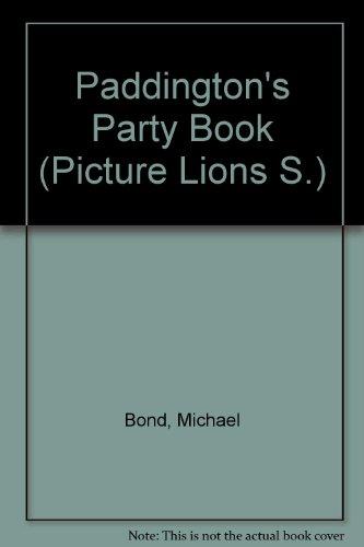 Paddington's party book
