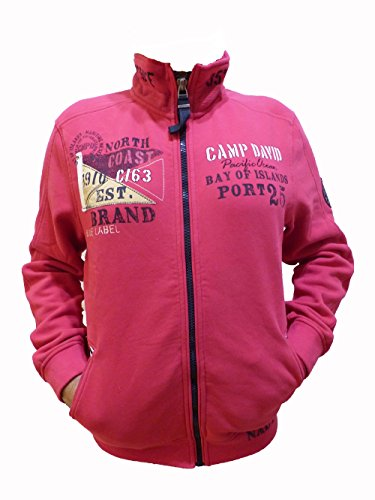 Camp David Buy of Island II Red Purple Sweatjacket CCB-1806-3621 (L)