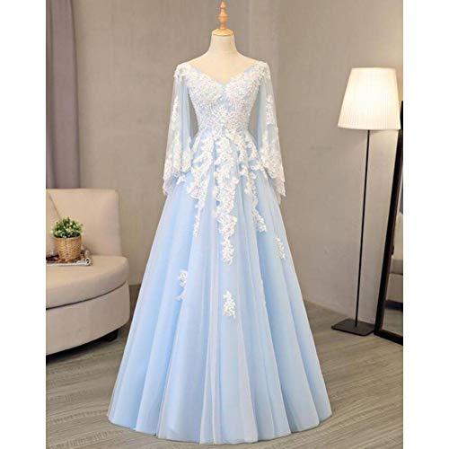 Weiß Kleid Queen Kostüm - QAQBDBCKL Ice Queen Cosplay hellblau weißen Mantel mittelalterlichen Kleid Renaissance Kostüm