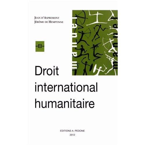 Droit international humanitaire : Thèmes choisis