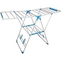 Balcón de Secado Rack Piso de Secado Rack Plegable Mobile Cool Hanger