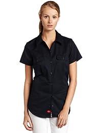 eb13e5c1df Amazon.co.uk: Dickies - Blouses & Shirts / Tops, T-Shirts & Blouses ...