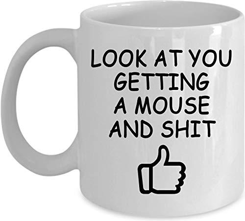 aus Geschenk Maus Kaffee Tasse Maus Maus Hund Maus Liebhaber Maus Maus ()